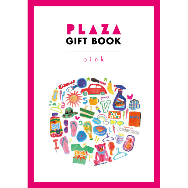 PLAZA(プラザ) GIFT BOOK pink(ピンク)