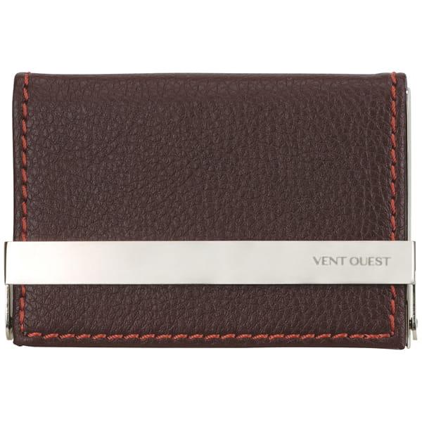 VENTOUEST / ネームカードケース ワイドバー(ブラウン)