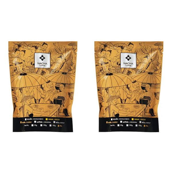NACHA COFFE(ナシャコーヒー) クラシック2個セット