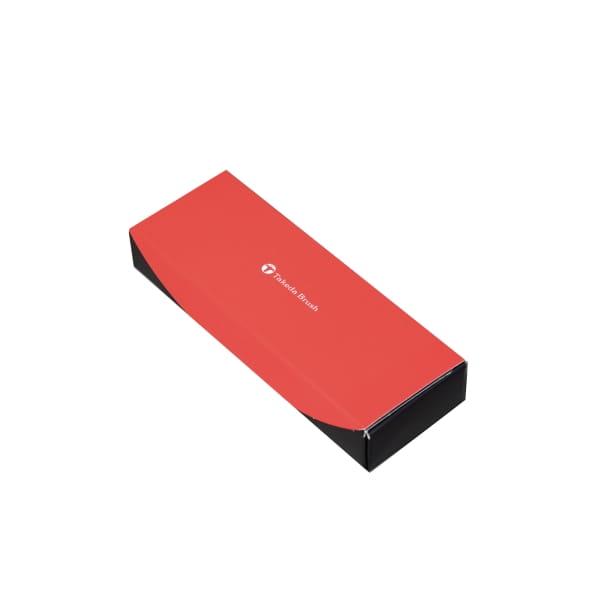 Takeda Brush / 熊野筆 携帯用リップブラシ ラウンド柄(シルバー)