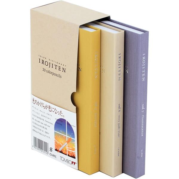 トンボ鉛筆 色鉛筆 色辞典30色 第三集