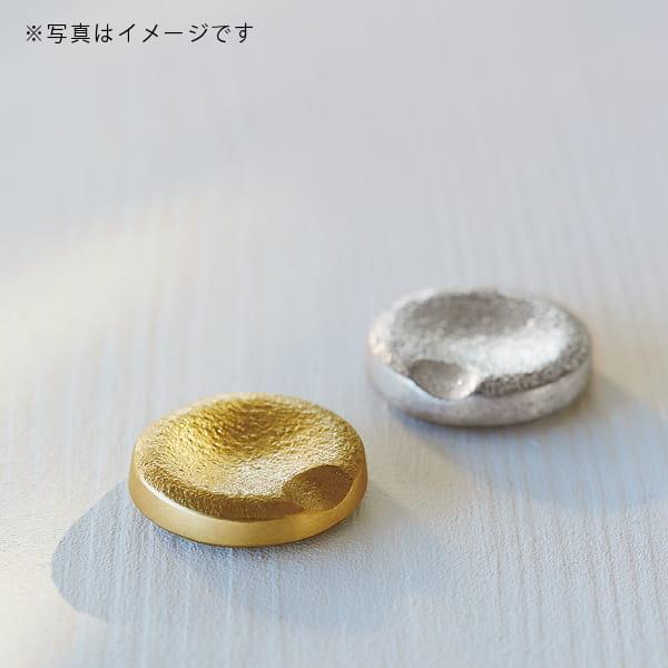 能作 / 箸置き 丸(真鍮)
