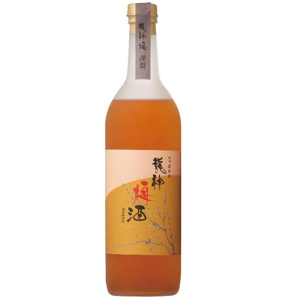 龍神梅酒 甜菜糖 龍神村産杉箱入