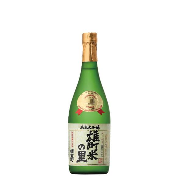 室町酒造 純米大吟醸 ゴールド雄町米の里 720ml