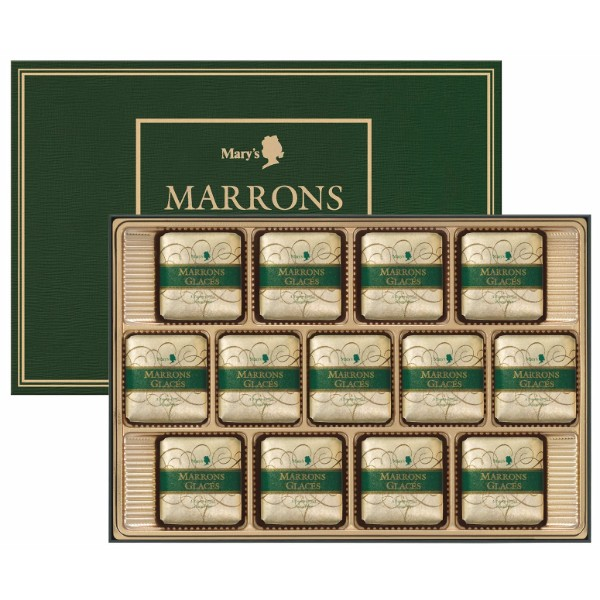 メリーチョコレート / マロングラッセ 13個*