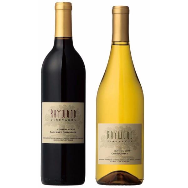 レイウッド・ヴィンヤーズ / 紅白ワインセット 各750ml