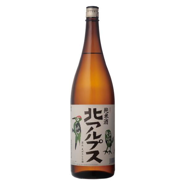 長野・福源酒造 / 北アルプス純米酒 BOX入り