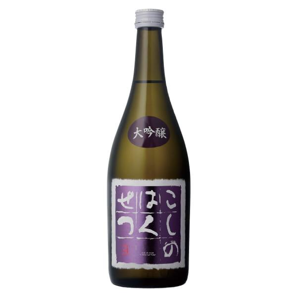 新潟・弥彦酒造 / こしのはくせつ大吟醸(四合瓶)