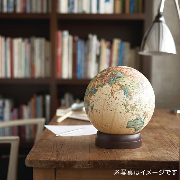 昭和カートン / 地球儀(経約21cm/アンティークタイプ 21-CBP)