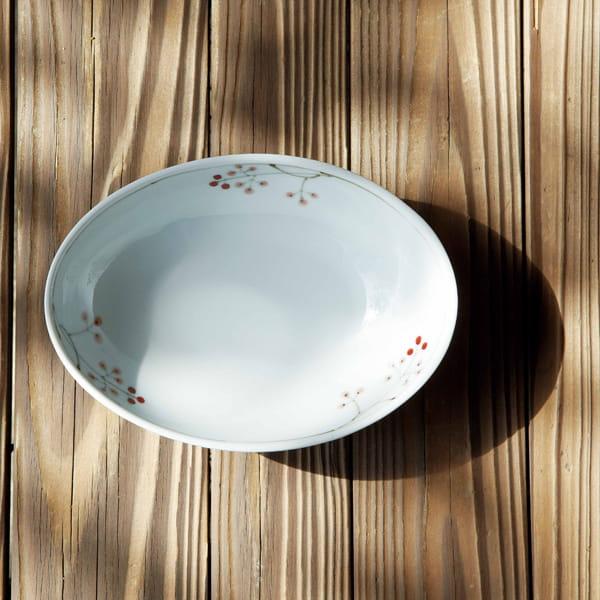 陶房青 / 波佐見焼 木の実 だ円鉢