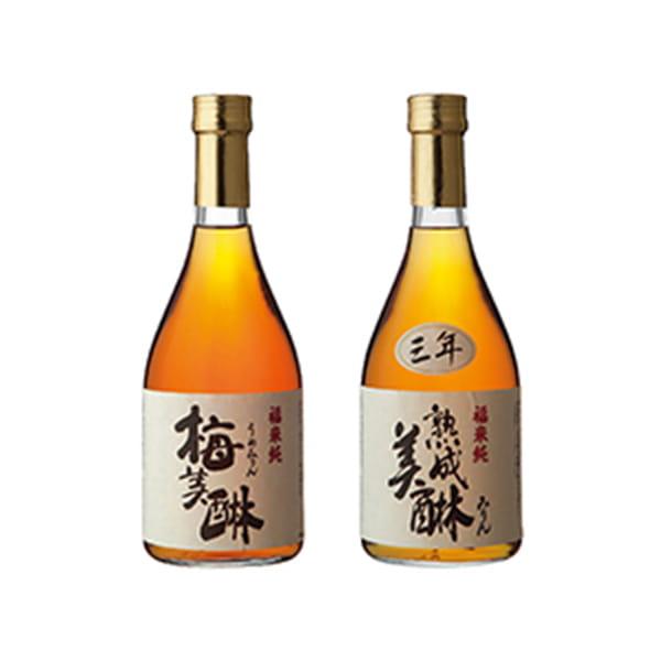 岐阜・白扇酒造 / 三年熟成味醂と梅味醂
