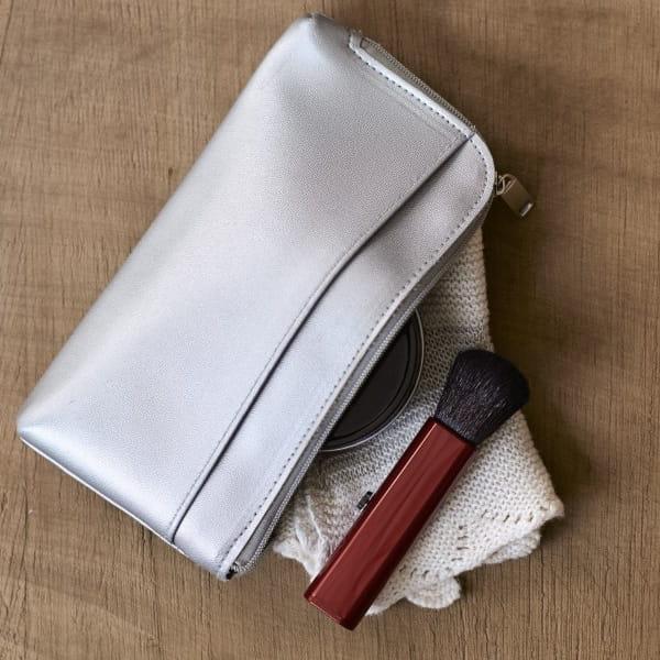 Takeda Brush / 熊野筆 携帯用チークブラシ(レッド)