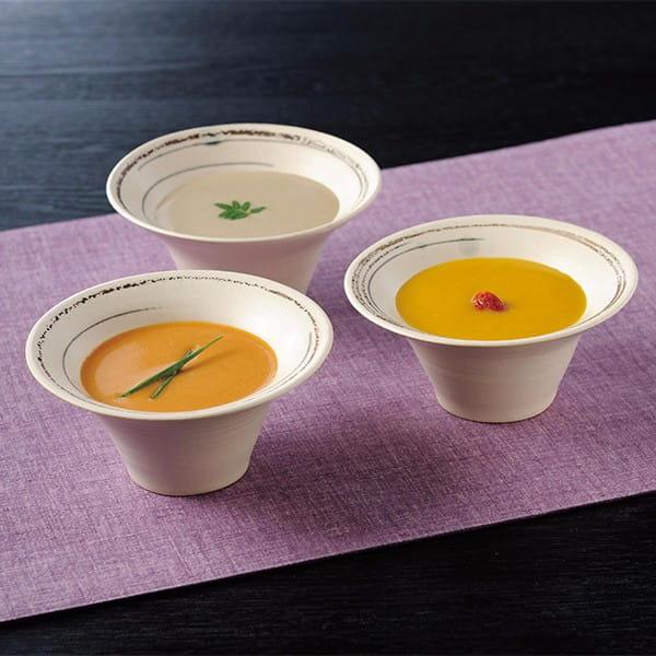なだ万 / おもてなしのすり流しスープ(3種6個)
