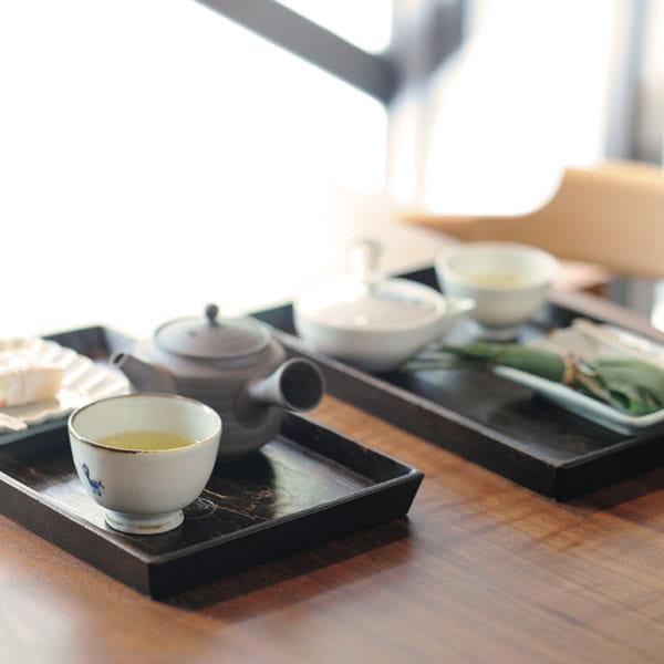 京都・一保堂茶舗 / 玉露・煎茶詰合せ(鶴齢・正池の尾)*