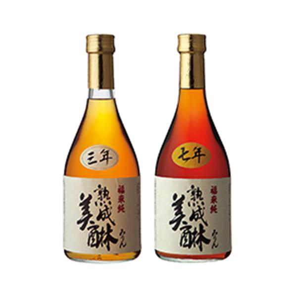 岐阜・白扇酒造 / 三年熟成味醂と七年熟成味醂