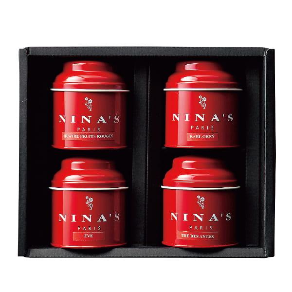 Ninas / フレーバーティー4缶セット*
