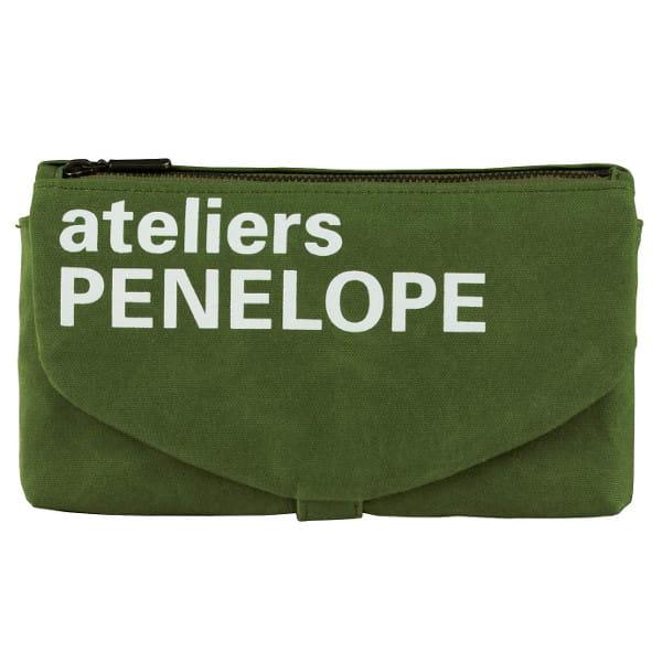 ateliers PENELOPE / カーゴポーチ(グリーン)