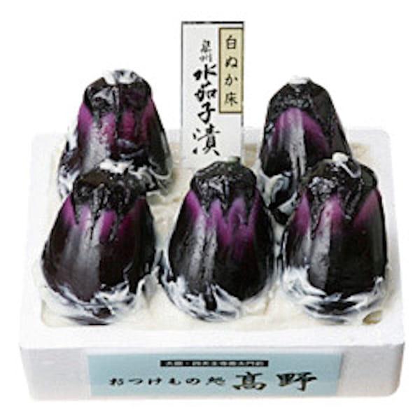大阪・おつけもの処高野 / 白ぬか床泉州水茄子漬*