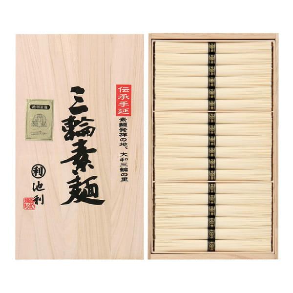 奈良・池利 手延三輪素麺詰合せ(36束)