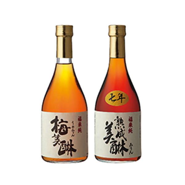 岐阜・白扇酒造 / 七年熟成味醂と梅味醂