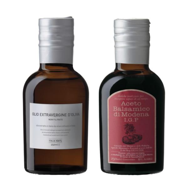 スプレンディア / オリーブオイル&バルサミコ酢セット*