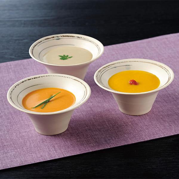 なだ万 / おもてなしのすり流しスープ(3種9個)
