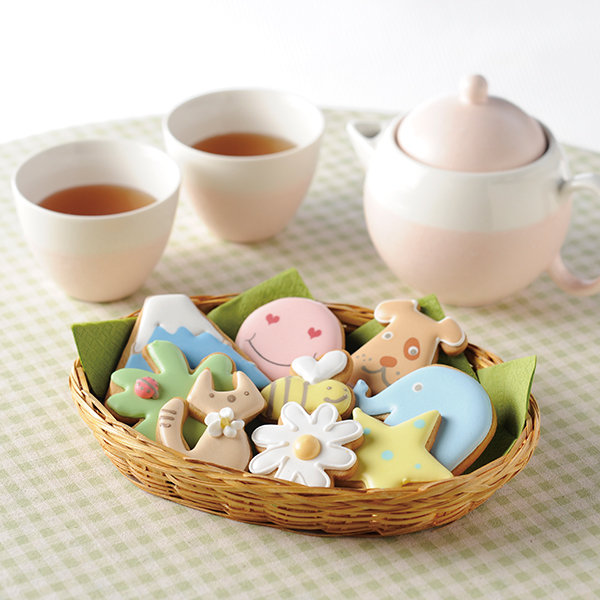 静岡・YOU Me&Cookies / アイシングクッキー16枚
