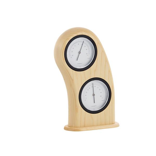 ササキ工芸 / スマイル温湿度計(メープル)