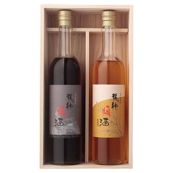和歌山・龍神梅酒 / 2本セット 龍神村産杉箱入