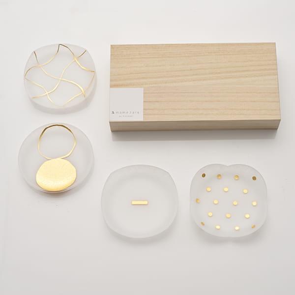 toumei / 箔 mamezara 4枚セット い
