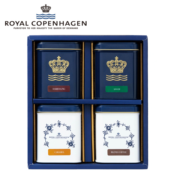 ロイヤル コペンハーゲン /  紅茶・コーヒーセット*