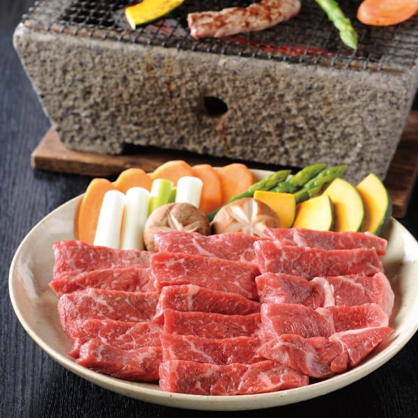 熊本県阿蘇うぶやま村の放牧あか牛 焼肉用*