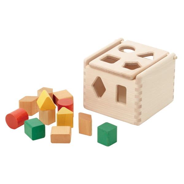 木のパズルボックス