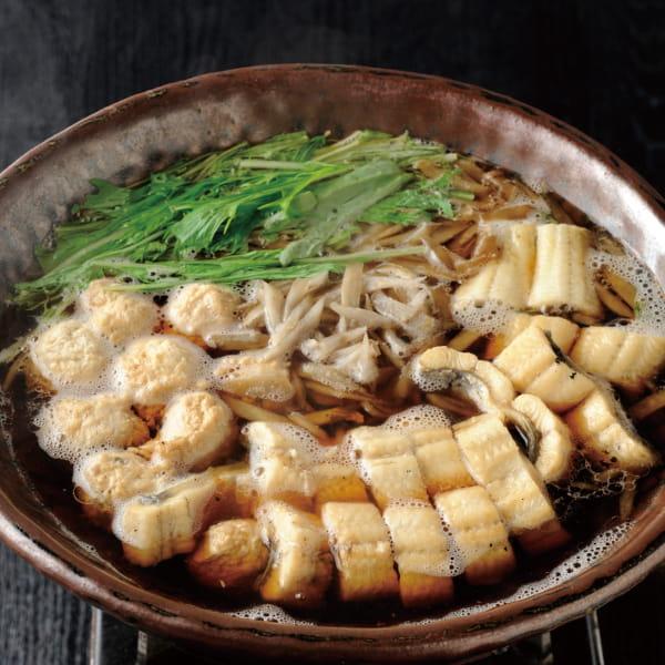 おもてなしの日本料理 国産うなぎ鍋*