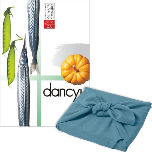 <風呂敷包み> dancyu(ダンチュウ) カタログギフト <DA+風呂敷(色のきれいなちりめん あじさい)>