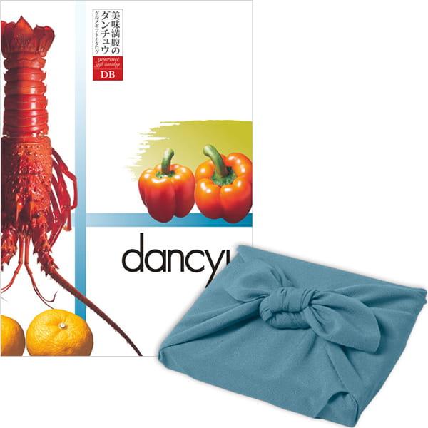 <風呂敷包み> dancyu(ダンチュウ) カタログギフト <DC+風呂敷(色のきれいなちりめん あじさい)>