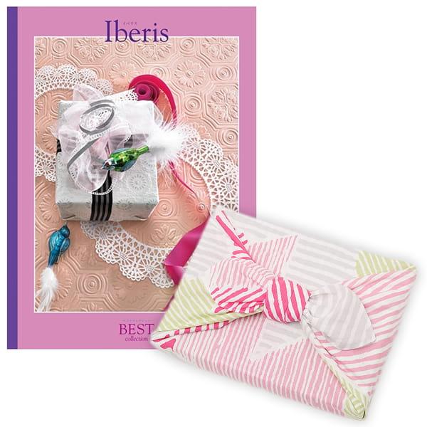 <風呂敷包み> 選べるギフト ベストコレクション <イベリス|Iberis+風呂敷(こはれ ねんりん ピンク)>
