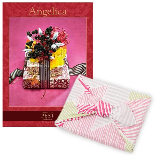 <風呂敷包み> 選べるギフト ベストコレクション <アンジェリカ|Angelica+風呂敷(こはれ ねんりん ピンク)>