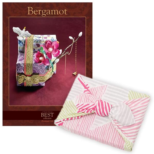 <風呂敷包み> 選べるギフト ベストコレクション <ベルガモット|Bergamot+風呂敷(こはれ ねんりん ピンク)>