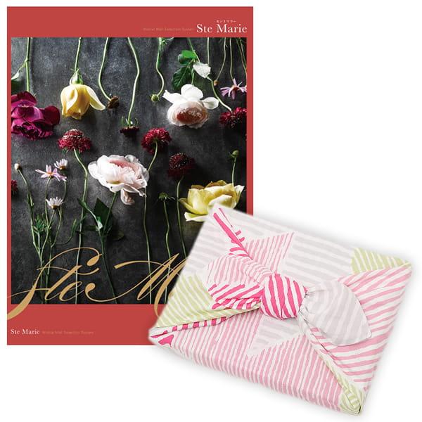 <風呂敷包み> 選べるギフト Mistral(ミストラル) <セントマリー+風呂敷(こはれ ねんりん ピンク)>