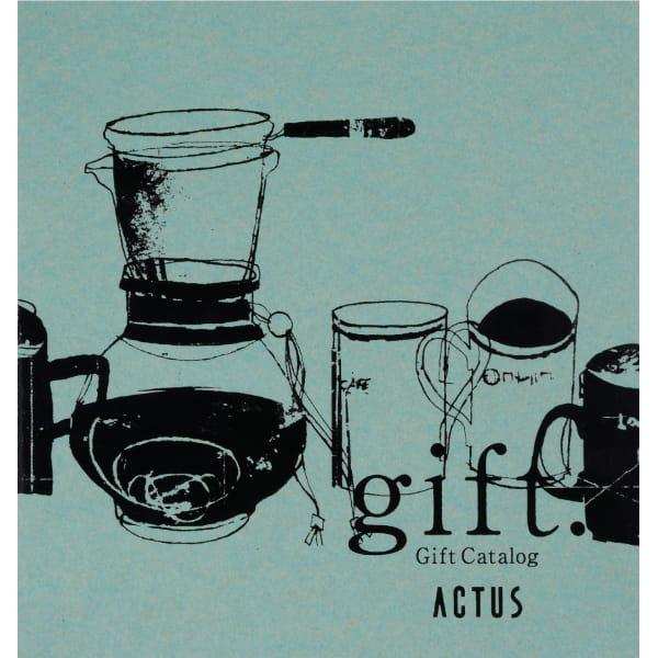 ACTUS(アクタス) カタログギフト <TURQUOISE edition(ターコイズエディション)>