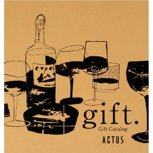 ACTUS(アクタス) カタログギフト <YELLOW OCHER edition(イエローオーカーエディション)>