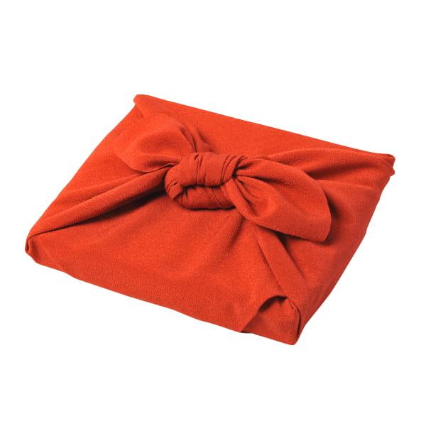 <風呂敷包み> dancyu(ダンチュウ) グルメギフトカタログ <CC+風呂敷(色のきれいなちりめん りんご)>
