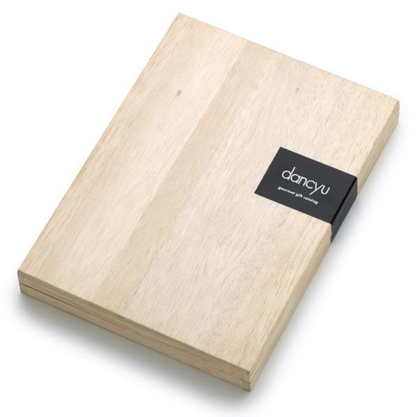 <風呂敷包み> dancyu(ダンチュウ) グルメギフトカタログ <CD+風呂敷(色のきれいなちりめん かぶの葉)>