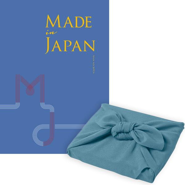 <風呂敷包み> Made In Japan(メイドインジャパン) カタログギフト <MJ10+風呂敷(色のきれいなちりめん あじさい)>