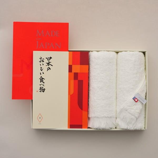Made In Japan(メイドインジャパン) with 日本のおいしい食べ物 <MJ16+茜(あかね)>+今治フェイスタオルセット