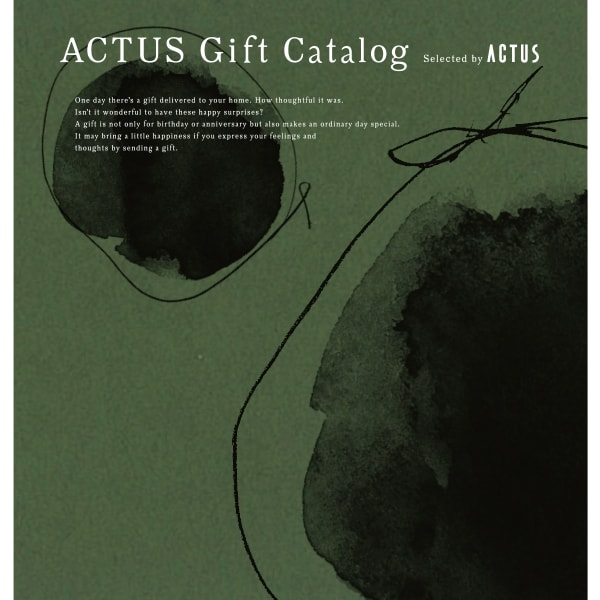 ACTUS(アクタス) ギフトカタログ <Edition M_G>