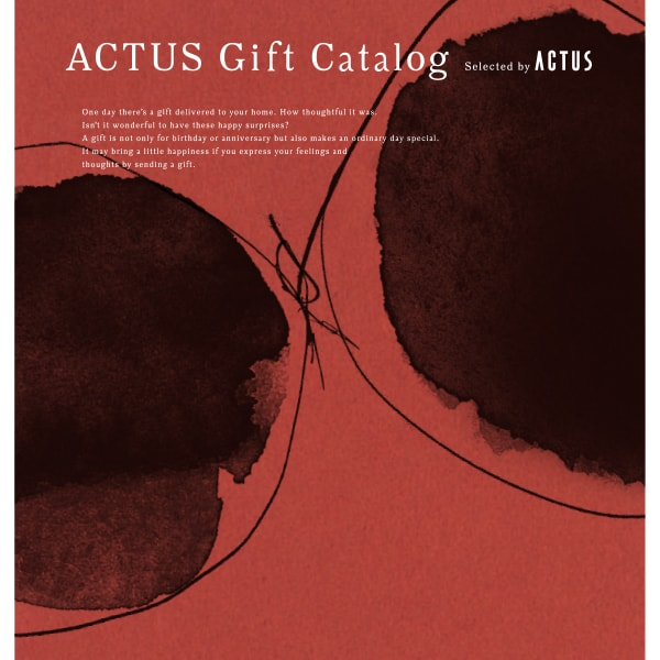 ACTUS(アクタス) ギフトカタログ <Edition U_R>