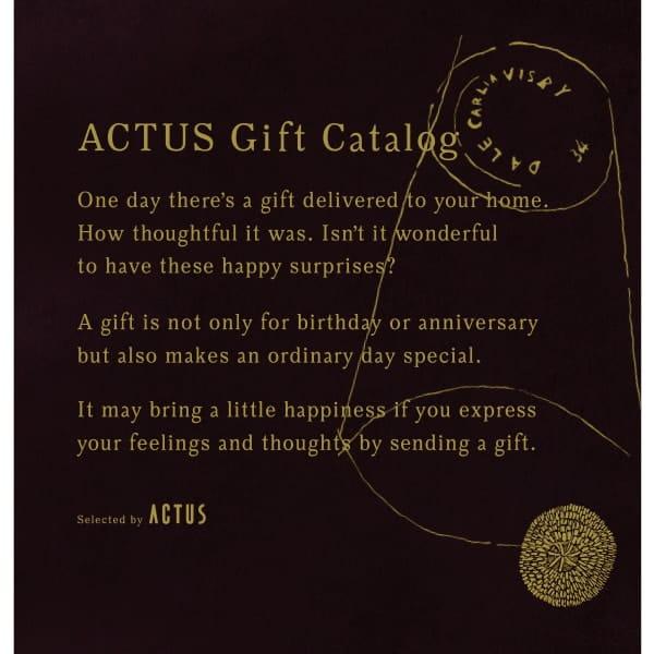 ACTUS(アクタス) ギフトカタログ <Edition D_B>