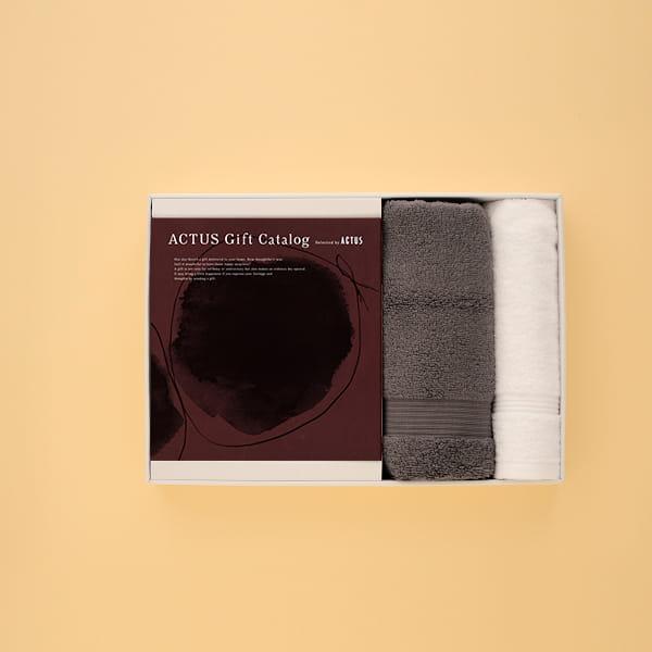 ACTUS(アクタス) ギフトカタログ <Edition W_R>+AYUR タオルセット